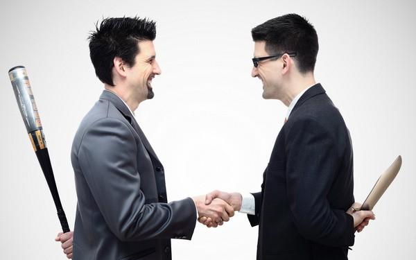 Бизнес-партнеры в конфликте